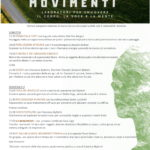 Movimenti II ed. Festival per smuovere il corpo e la mente al B&B Viadelcampo di Monte San Vito.